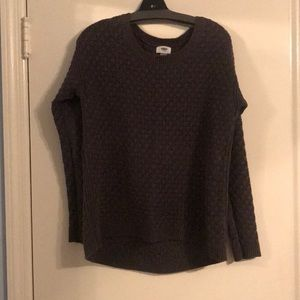 Charcoal old navy sweater